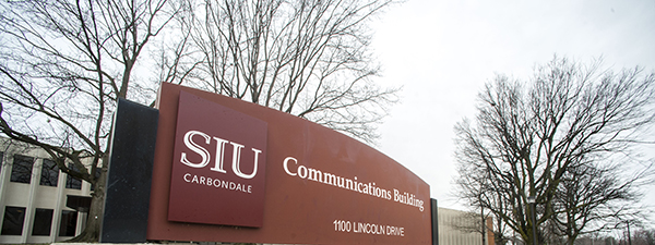 Exterior of Communications Building.